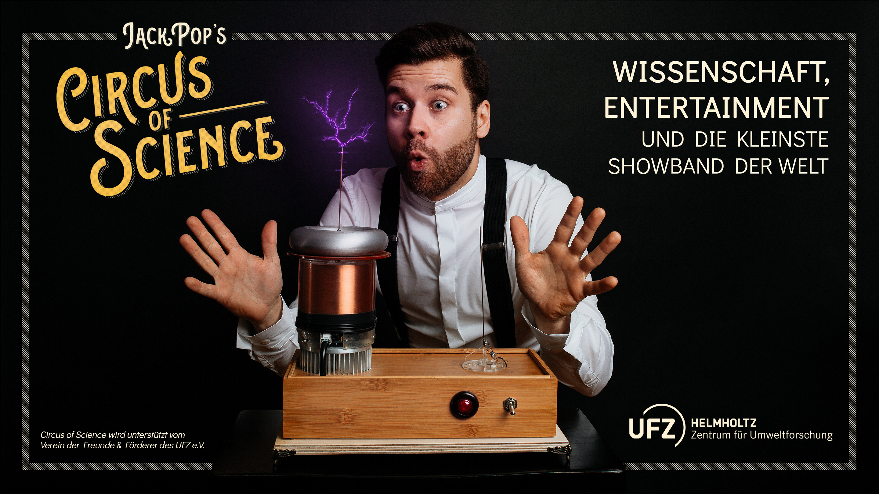 Jack Pop's CIRCUS of SCIENCE | Die Infotainment-Show im Kupfersaal Leipzig
